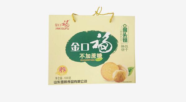 金口福猴头菇酥性饼干